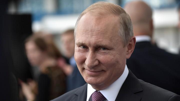 Russia's President Putin visits Kaliningrad Stadium